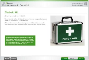 CIEH Introduction to First Aid online course